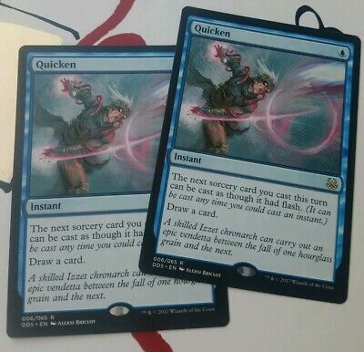 Might many available Magic the Gathering QUICKEN MTG Duel Deck Mind vs