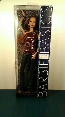 Very Rare Barbie Basics Collection 2.1 No 8 AA Articulated Muse Nrfb 2010 Nice!