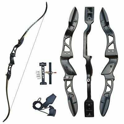 30lbs Archery Hunting Right Hand Takedown Recurve Bow and Arrows Shooting Set