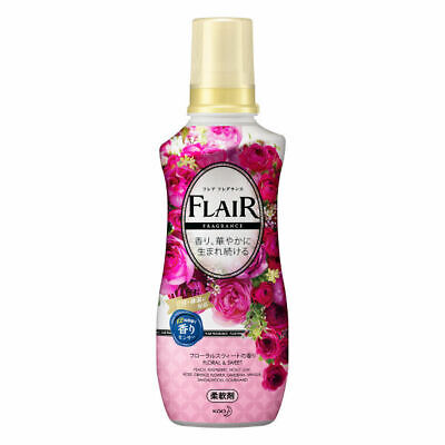Kao Japan FLAIR FRAGRANCE Laundry Fabric Softener Floral & Sweet 570ml