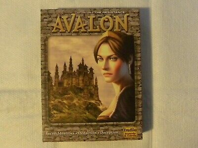 The Resistance Avalon Social Deduction Board Game
