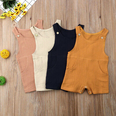 2019 Newborn Infant Baby Boy Girl Summer CUTE Romper Bodysuit Jumpsuit Outfits