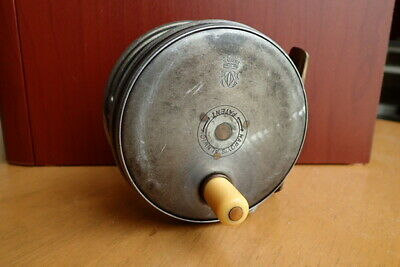 Museum Piece Vintage Hardy Perfect Wide-Drum 3-1/2 w/ Super-Rare Check