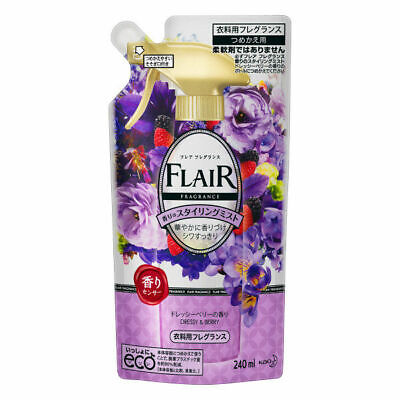 Kao Japan FLAIR FRAGRANCE Mist Fabric Fragrance Dressy & Berry 240ml Refill