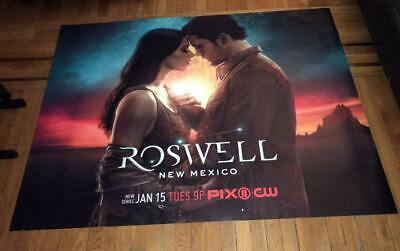 ROSWELL NEW MEXICO CW TV 5FT SUBWAY POSTER 2019 Jeanine Mason Nathan Parsons