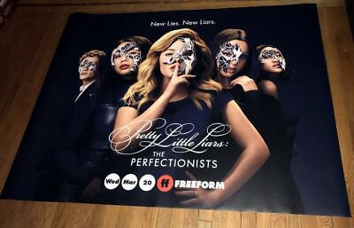 Freeform Channel Pretty Little Liars The Perfectionists 5Ft Subway Poster 2019