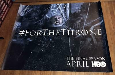 Hbo Tv Game Of Thrones The Final Season 5Ft Subway Poster #3 Got 2019