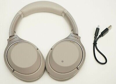 Sony Wh-1000Xm3/S Wireless Noise Cancelling Stereo Headphones Silver Wh-1000Xm3