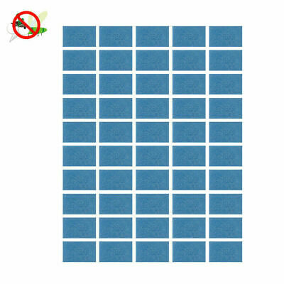[60 Pack] Mosquito Repellent Insect Bite Mat Tablet Refill Replace Pest Repeller