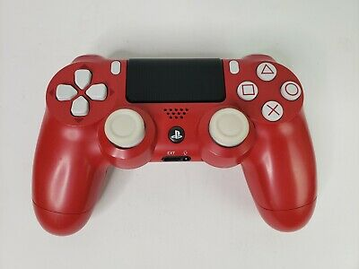 Limited Edition Marvel Spider-Man PS4 3D model Controller Red & White  CUH-ZCT2U