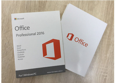 Microsoft Office 2016 Professional Pro License Key 32/64 Bit - Windows Pc