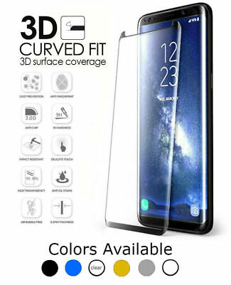 Premium 9H Samsung Galaxy Note 8 3D Full Cover Tempered Glass Screen Protector