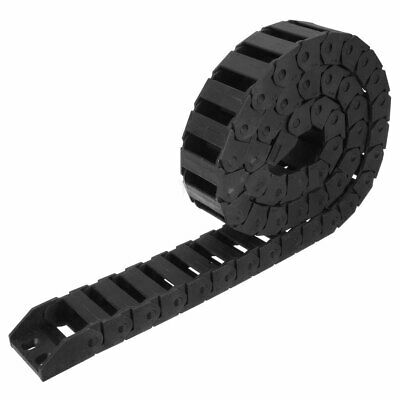 25x25 to 25x77mm Black Nylon Sealing both side open Cable Drag Chain R55 R75