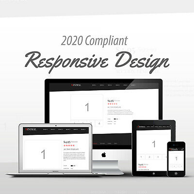 2020 Compliant Mobile Responsive Ebay Auction Listing Template Minimal Code