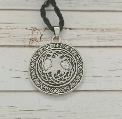 Viking tree of life necklace goth pagan wiccan witch occult alternative Norse