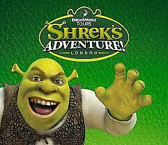 2  x SHREK ADVENTURE tickets all 9 code to pick your own date with sun savers.