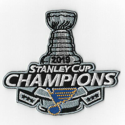 2019 stanley champions St. Louis Blues iron on patch embroidered patches