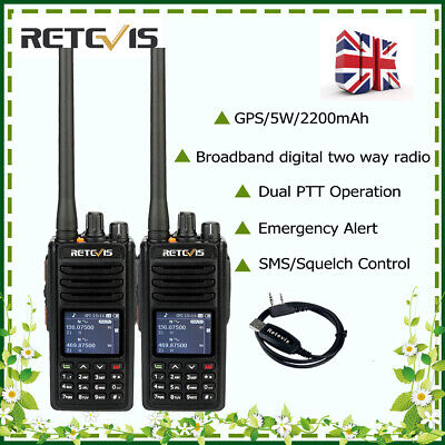 AILUNCE HD1 GPS Version DMR Walkie Talkie VOX compatiable to