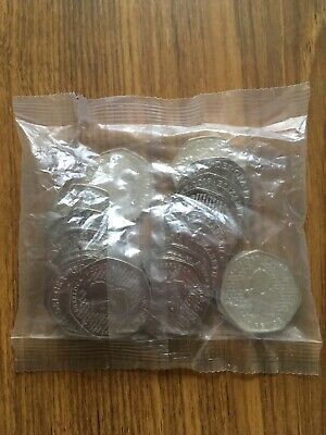Sealed Bag Of Twenty UNC 2019 Sherlock Holmes 50p Coins Fifty Pence Coins