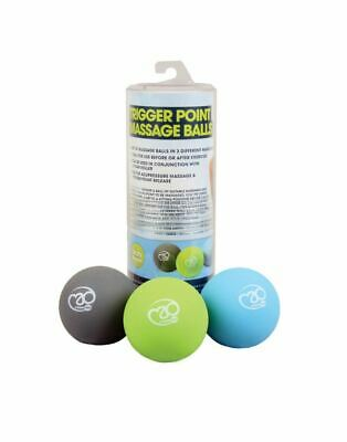 Fitness Mad Massage Trigger Point Intensity Massage Ball Set Muscle Pain Relief