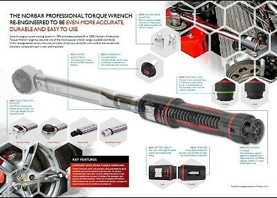 "Norbar 60P 11171 Prod./'P/'Torque Wrench 1//2/""S//D"