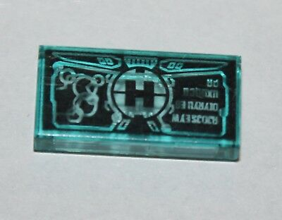 LEGO 3069bpb005 @@ Tile 1 x 2 with HP Money Purse and Coins Pattern @@ 4714