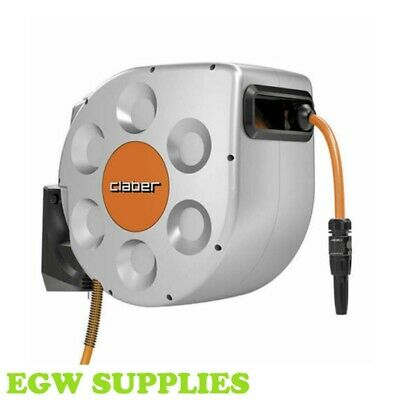 Rotoroll Evolution 30m Wall Mounted Automatic Hose Reel - Claber 8697