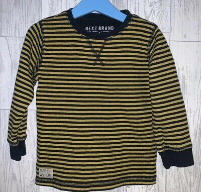 Boys Age 3-4 Years - Next Striped Long Sleeved Top