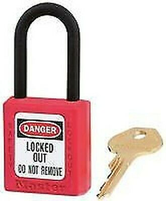 NON CONDUCTIVE LOCKOUT PADLOCK RED Security Locks - GR76085