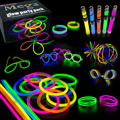 463pc Ultimate Mega Party Pack Glow Sticks Party Accesories