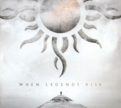 Godsmack ‎– When Legends Rise Deluxe Digi-Pack Cd (New/Sealed)