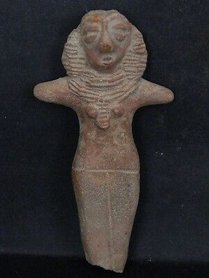 Ancient Indus Valley Teracotta Mother Goddess C.600 BC No Reserve #K433#