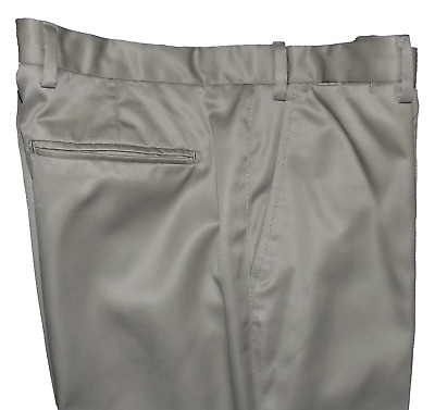 M&S Collection Pure Cotton Active Waist Tailored Tan Chinos Cost 39.50 34W 31L