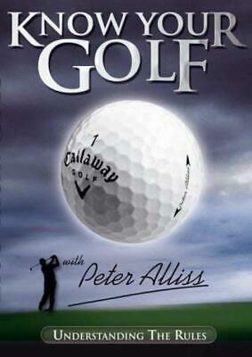 Know Your Golf DVD - Classic Pictures Entertainment - Good - DVD
