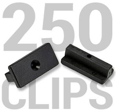 Composite Decking Clips Fixings T-clips 250 BAG (Suitable for 15 SQM)