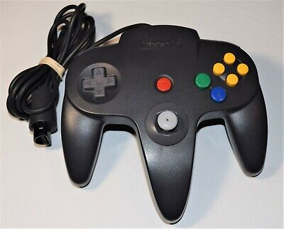Official (Nintendo 64, N64) Controller ☆ Oem, Authentic ☆ Good Stick ☆ Tested