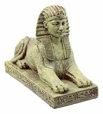 """Ebros Gift Ancient Egyptian Guardian Sphinx Figurine 4.25"""" L Androsphinx Lion"""