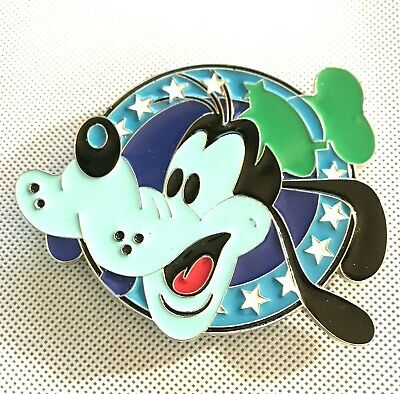 Disney Rare Belt Buckle Goofy, Enameled Unmarked