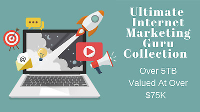 The Internet Marketing Guru Collection (5TB+ of Courses by IM Guru's) - Must See