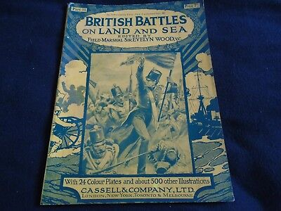 British Battles On Land And Sea Edited By Field Marshall Sir Evelyn Woods 1915
