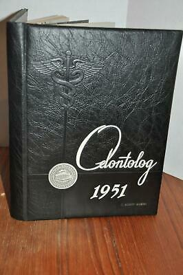 1951 Temple University Odontolog Yearbook Dentistry Philadelphia PA