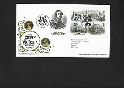 GB 2019 Queen Victoria Bicentenary Miniature Sheet on  FDC