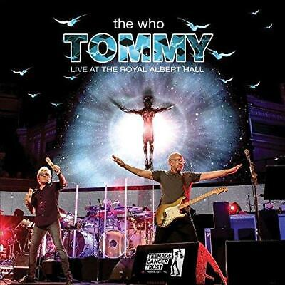 THE WHO ‎– TOMMY LIVE AT THE ROYAL ALBERT HALL 2CDs (NEW/SEALED)