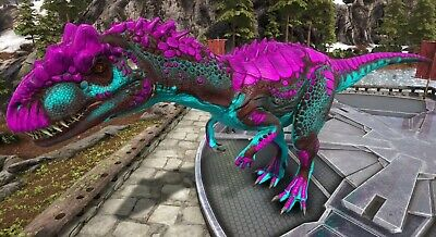 ARK SURVIVAL EVOLVED Xbox One PvE x2 Cotton Candy Velonasaur