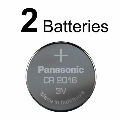 2 PANASONIC CR2016 CR 2016 3v Lithium Battery NEW Expiration Date 2028