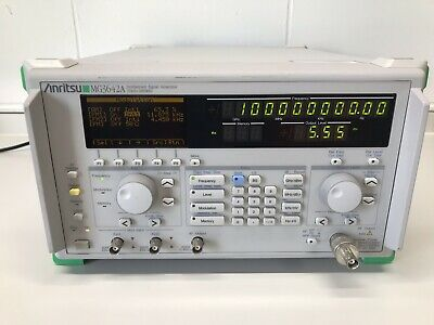 Anritsu MG3642A Synthesized Signal Generator 125kHz 2080MHz