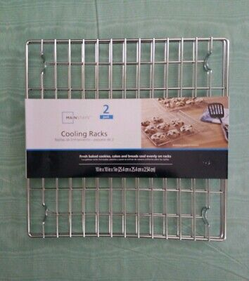 Cooling Racks For Fresh baked cookies cakes and breads cool evenly on racks 2pc