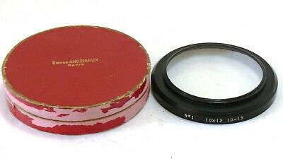 Angenieux Series 9 72mm No.1 Close Up Lens for 10-15mm & 12-120mm EXC+ #34752