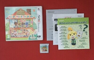 Animal Crossing Happy Home Design - Nintendo 3DS - TESTED