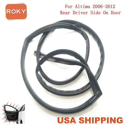 Door Opening Weatherstrip Seal High Quality Rear Left for Nissan Altima 2006-12